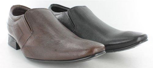 Tag1pour homme chaussures en cuir Noir