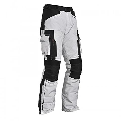 Bering - Pantalon moto - Bering Pantalon CALIFORNIA Noir/Gris - S