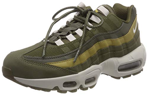 low priced d92bc 3511c Nike Men's Air Max 95 Essential Gymnastics Shoes, Green (Olive Canvas Lt  Bone/