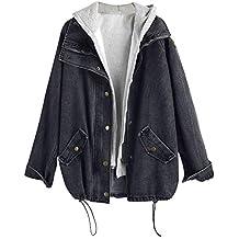 the best attitude d9356 23e28 Suchergebnis auf Amazon.de für: jeansjacke mit kapuze damen ...