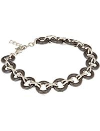 Ceranity - 1-32/0024-N - Bracelet Femme - Argent 925/1000 5.1 gr - 19 cm