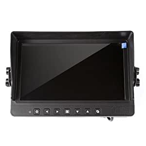 "Barsoom 9"" Car Truck Rear View Rearview Monitor Secutirt System Black Suitable for All Kinds of Vehicles"