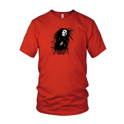 Marley Splash - Herren T-Shirt Rot