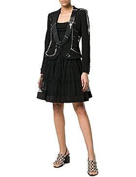 Moschino Mujer J011604471555 Negro Poliamida Falda