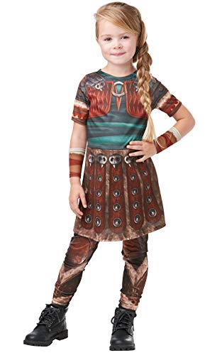 Rubies 641469M How to Train Your Dragon Fancy Dress, Niñas, Multicolor