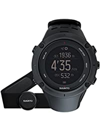 Suunto, Ambit3 HR, Unisex Multisport-/Outdoor GPS-Uhr, Herzfrequenzmesser + Brustgurt
