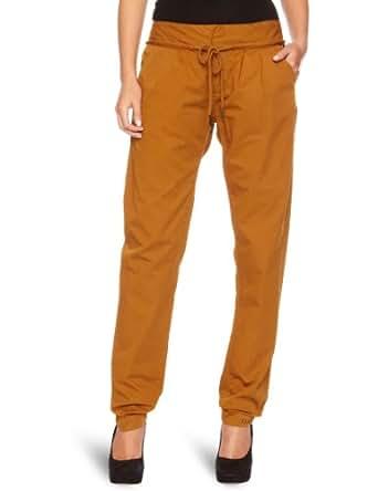 Bench Hose Chino Praia B - Pantalons - Maternité Femme, Marron (rubber) - (Taille fabricant: 24/32)