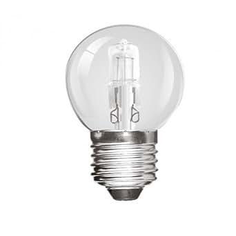 Pack de deux E27 40 watt globe four lampe - WVE.WEL3741
