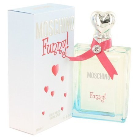 Moschino Funny 3.4 Oz 100 Ml Edt (Eau De Toilette) Spray for Women New in Retail Box by Vetrarian - Moschino Edt 3.4