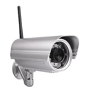 Foscam FI9804W - Cámara IP de vigilancia 720p, 1 MP, H264, WiFi, de Exterior, 70°, visión Nocturna 20 m, 5.5 W (B00EUIRRXQ) | Amazon price tracker / tracking, Amazon price history charts, Amazon price watches, Amazon price drop alerts