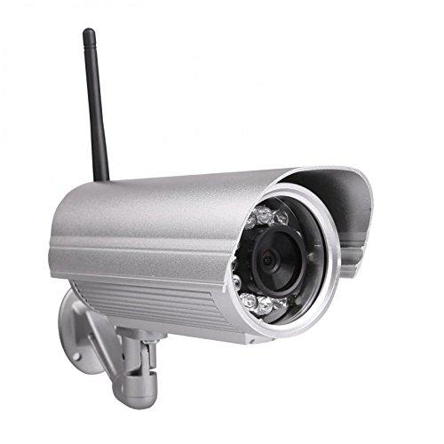 Foscam FI9804W Telecamera IP Impremeabile IP66 Megapixel HD H.264 Wireless/Cavo con Filtro IR-Cut - 40 Metri Visione Notturna e Lente da 4mm (70° Gradi)