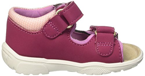 Ricosta Kittie, Sandales ouvertes fille Rose (fuchsia/candy 321)