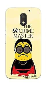 Kaira High Quality Printed Designer Back Case Cover For Motorola Moto E3 Power(Crimemastergogo)