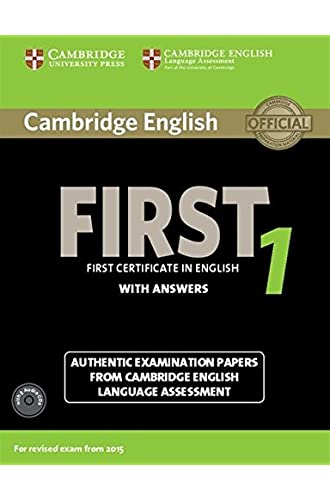 Cambridge first certificate in english. For updated exam. Self