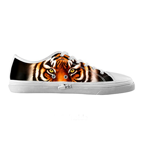 Preisvergleich Produktbild Cheese Auf Maßnahme Tiger Originals Schuhe Leinwand hochwertige Mode Männer Mode auf Maßnahme von qualitatv der Damen Tennis Schuhe, US9/EUR42