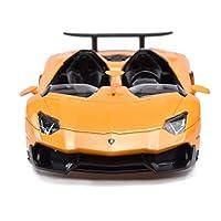 Nome negozio: LIUFSNome prodotto: modello in legaSerie di vetture: Lamborghini Evanta JDimensioni: 21 * 8.5 * 4 cmRapporto: 1:24Materiale: lega di zinco, plasticaColore del prodotto: arancione, rosso, gialloPrestazioni del prodotto: le doppie porte p...