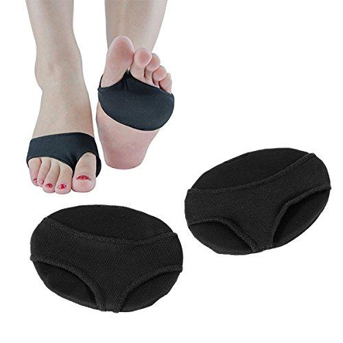 SUPVOX 1 paire manchons métatarsiens de coussin de gel - Coussinets métatarsiens pour douleur à l'avant-pied - métatarsalgie, neurome de Morton, verrues plantaires, cors et sésamoïdite - Grand