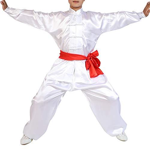 kleidung Unisex Erwachsener Kind Trainingsbekleidung Sets - Jungen Mädchen Chinesisch Traditionell Wing Chun Frauen Shaolin Kung Fu Tai Chi Männer Performances Kostüme ()