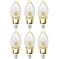 Lynknova lampadine a candela LED 5Watt C37E12base