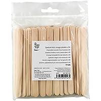 Peggy Sage - 50 depilación de espátulas de madera desechables - 601147