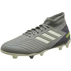 adidas Predator 19.3 FG, Zapatillas de Fútbol para Hombre, Verde (Legacy Green/Sand/Solar Yellow Legacy Green/Sand/Solar Yellow), 44 EU