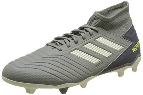 Adidas Predator 19.3 FG, Zapatillas de Fútbol para Hombre, Verde Legacy Green/Sand/Solar Yellow Legacy...