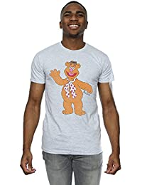 Muppets Homme Classic Fozzy T-Shirt Large Heather Gris