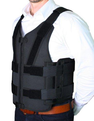PRODEF® Stichschutzweste Mod. II mit federleichten Edelstahlplatten Abbildung 2