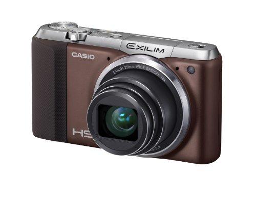 Casio Exilim EX-ZR700 Digitalkamera (16,1 Megapixel, 7,6 cm (3 Zoll) Display, 36-fach Multi SR Zoom, Triple Shot, HDR) braun -