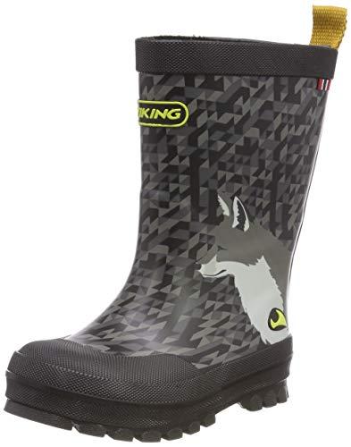 Viking Unisex Kids' Big Fox Wellington Boots