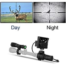 WILDGAMEPLUS® Appareils-photo de portée de vision nocturne de Digital IR, résistance aux chocs de recul de Joule de 5000 pieds, tir au pistolet, portée de la carabine à piles WGX3