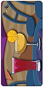 Snoogg Cocktail Sundays 2463 Case Cover For Sony Xperia Z3
