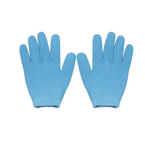 Sharplace Moisturizing Gel Baumwolle Handschuhe Feuchtigkeitsspendende Handschuhe - Blau