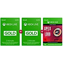 Xbox Live Gold Mitgliedschaft 6 Monate + APEX Legends: 1.000 Coins [Xbox Live Download Code]