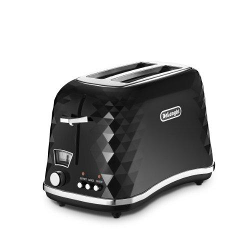 Delonghi CTJ 2103.BK Brillante Toaster (900 Watt) schwarz