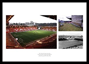 Framed The Valley Through the Ages - Charlton Athletic Photo Memorabilia