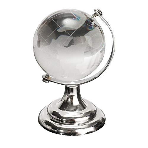 Crystal Globe Klar Kristallkugel mit Stand Handwerk Dekoration für Zuhause Buro Dekorationen Hochzeit Kleines Geschenk