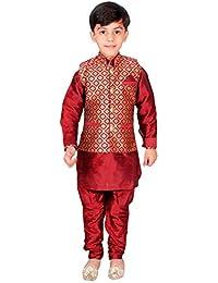 Jungen Kurta Pyjama Weste Maharaja Style Bollywood EB 947