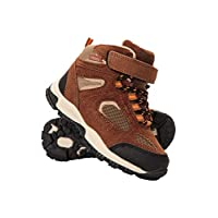 Mountain Warehouse Forest Junior Waterproof Boots - Breathable Kids Walking Boots, Lightweight Boys Shoes, Phylon Midsole Girls Hiking Footwear - Great for Comfort