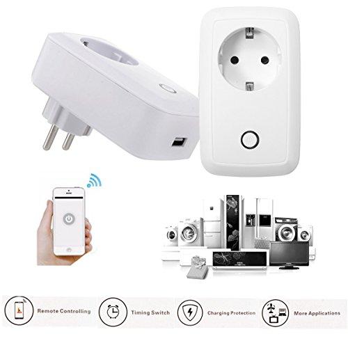 Enchufe-Inteligente-Wifi-InalmbricoGOCHANGE-Interruptor-de-Enchufe-Inteligente-Con-Control-de-Aplicaciones-Para-IOS-y-AndroidProteccin-de-SobrecargaZcalo-Blanco-Inalmbrico-Para-El-Hogar-y-Oficina
