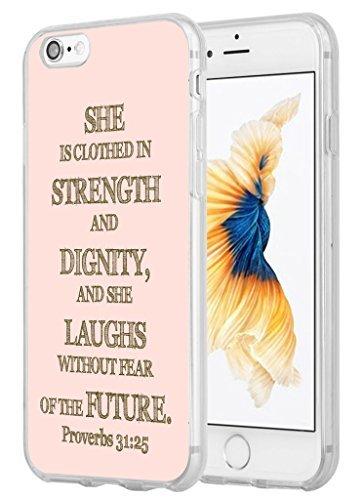 Schutzhülle für iPhone 6, iPhone 6Fall Bibel Verse Christian Zitate 11,9cm Dear Vergangenheit Thank You für Kurse, die Sie Dear Future I 'm Ready Dear God Thank You für Another Chance, Style-53