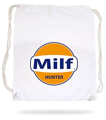 Certified Freak Milf Hunter Gymsack White