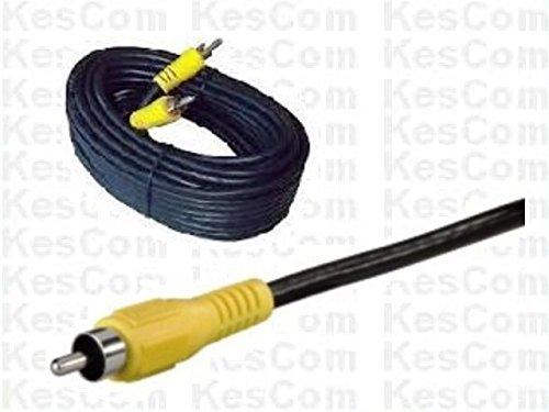 20m Cinch Kabel Stecker / Stecker gelb - ideal für Videoübertragung -
