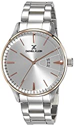 Daniel Klein Analog Silver Dial Mens Watch - DK11607-6