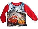 Cars 3 Pullover Jungen Disney Lightning McQueen (Rot, 98)