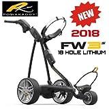 'Nuovo 5.123,2cm Powakaddy FW3I bianco trolley da golf elettrico esteso batteria al litio e caricabatteria