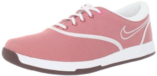 Nike Golf da Donna Lunar Duet Sport Scarpe da Golf, Rosa (Light Redwood/Dynamic Pink/Summit White), 37.5 EU