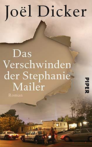 Buchseite und Rezensionen zu 'Das Verschwinden der Stephanie Mailer: Roman' von Joël Dicker