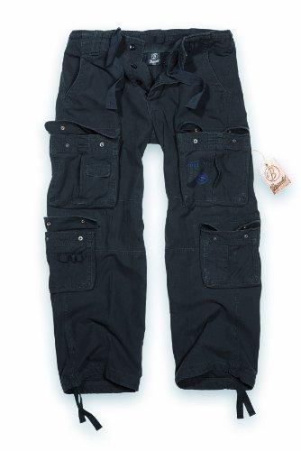 Brandit Pure Vintage Pantaloni Nero taglia XXL