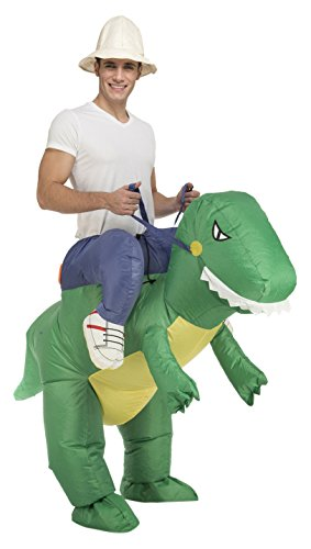 My Other Me - Disfraz de dino hinchable unisex, M-L (Viving Costumes 204213)
